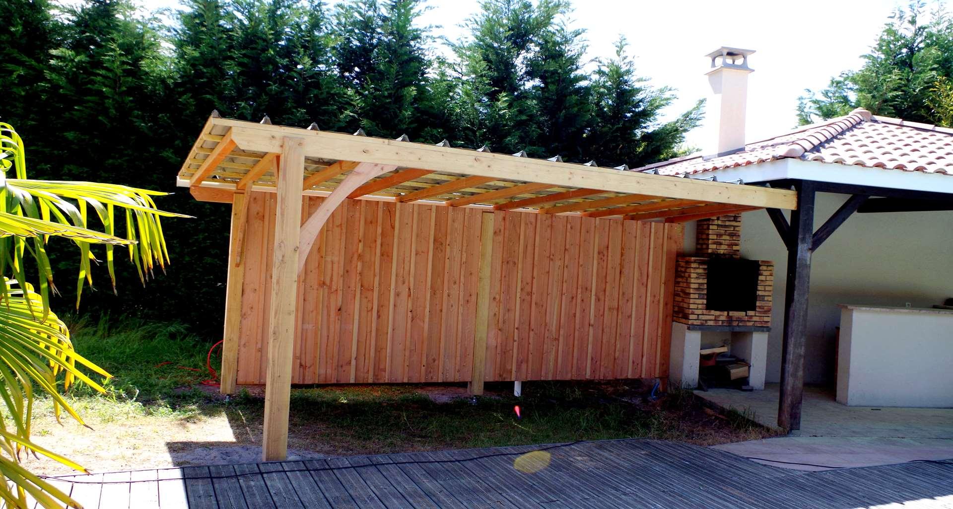 Abri De Jardin En Pin Douglas réalisations | casa mökki