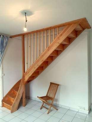 Escalier en Pin Douglas
